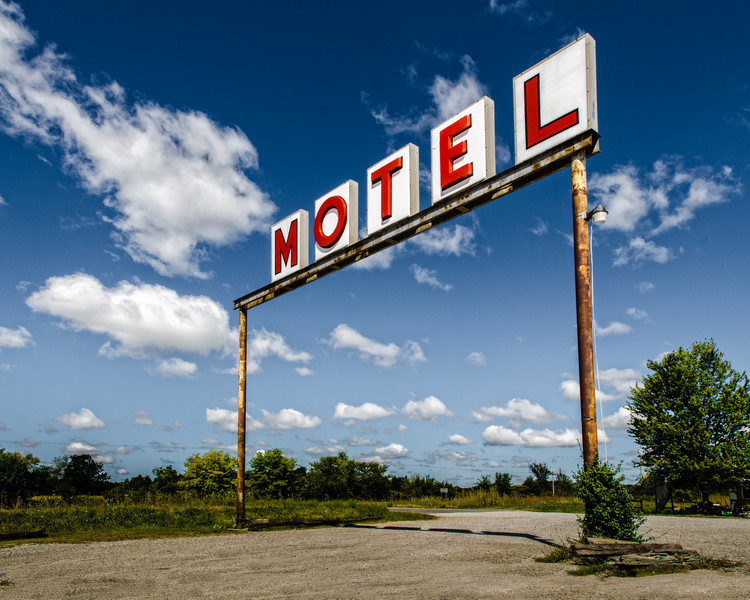 The Sunset Motel in Mt. Olive Illinois on Route 66