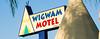 Wigwam Village #7 Sign