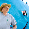 Caretaker of The Blue Whale Blaine Davis