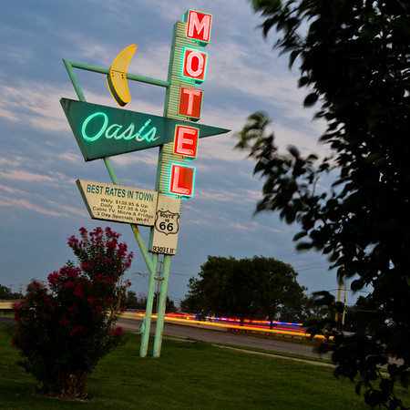Oasis Motel Route 66