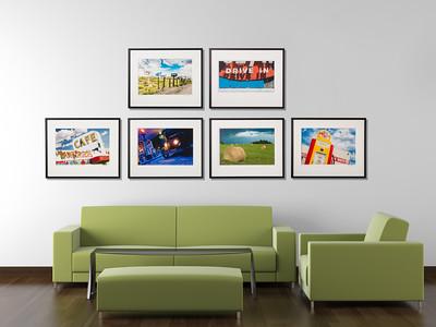 Pics On Route 66 Fine Art Giclée Prints