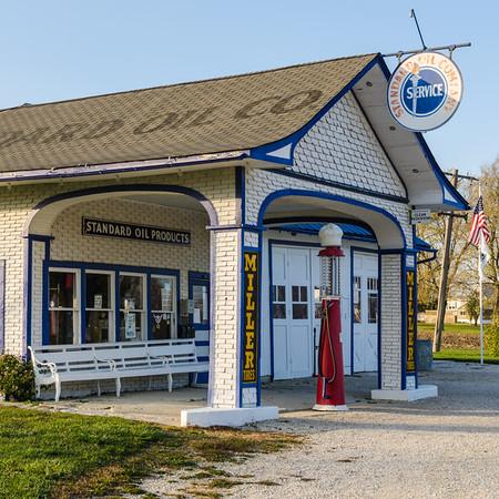 Odell's Standard Oil Station