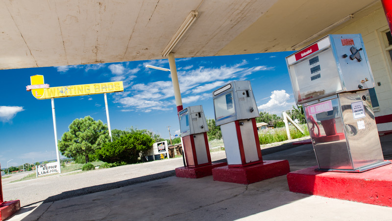 Moriarty Whiting Brothers Gas Station