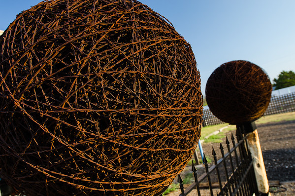 Barbed Wire Balls