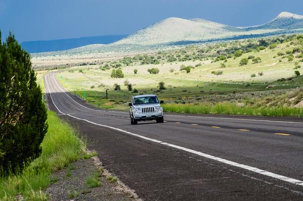 Route 66 Road Shot