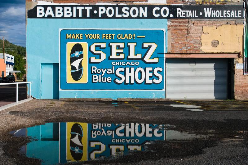 Seltz Shoes Billboard_Route_66