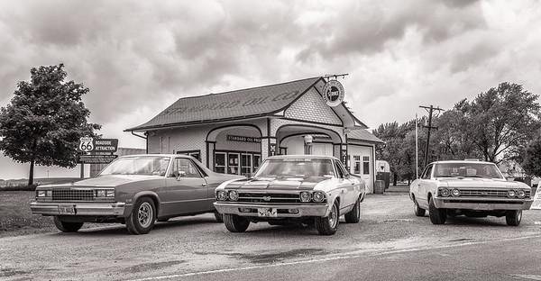 Standard Oil Gasoline Station BW, Odell, IL