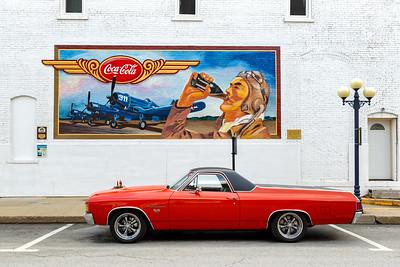 Coca Cola Mural, Pontiac, IL