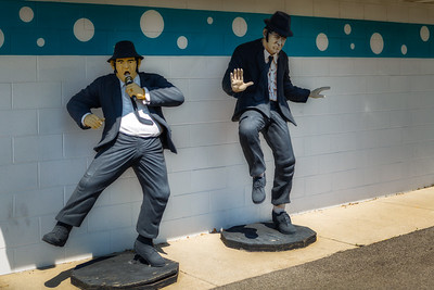 Blues Brothers at Polk-A-Dot Drive In