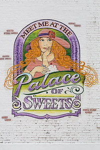 Palace of Sweets Mural, Pontiac, IL