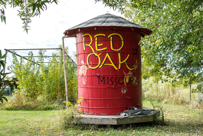 """Located near Carthage, Missouri, Red Oak II is a faithful reproduction of a small Missouri town and is the labor of love of artist Lowell Davis who has a penchant for intentional mis-spelling and mis-pronunciation of """"Missouri"""" as """"Missoura"""".  More about the artist here -- <a href=""""http://www.missourilife.com/life/art/missouri-artist%3A-lowell-davis/"""">http://www.missourilife.com/life/art/missouri-artist%3A-lowell-davis/</a><br /> <br /> More about Red Oak II here -- <a href=""""http://www.legendsofamerica.com/mo-redoakii.html"""">http://www.legendsofamerica.com/mo-redoakii.html</a>"""