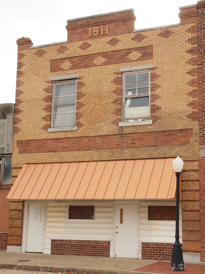 1911 Building on old US-66<br /> Depew, Oklahoma