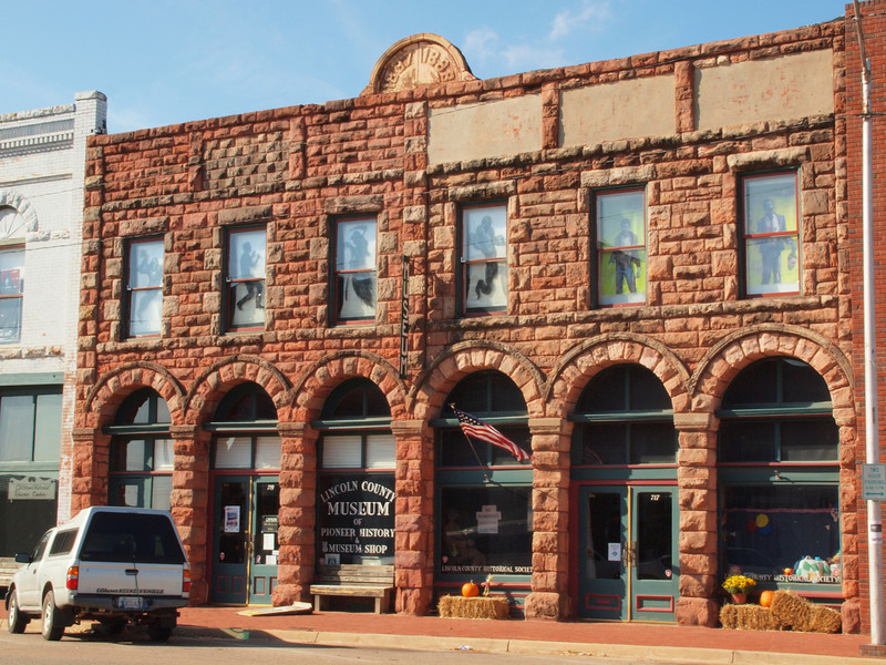Lincoln County Museum<br /> Chandler, Oklahoma