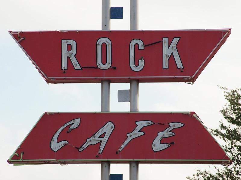 Rock Cafe along Old US-66<br /> Stroud, Oklahoma