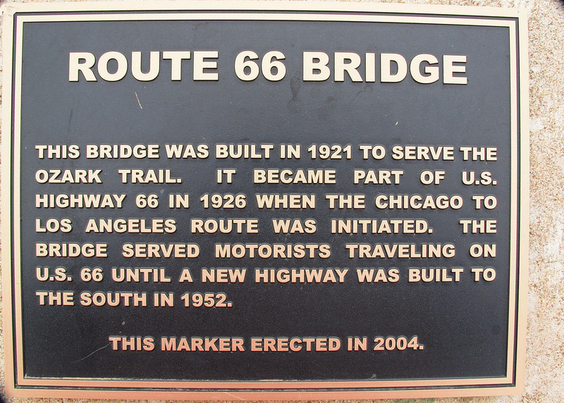 Rock Creek Bridge Memorial Marker