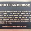 Rock Creek Bridge Memorial Marker