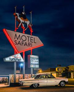 The Safari Motel Route 66 Tucumcari NM