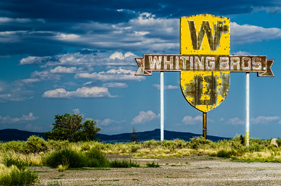 Whiting Brothers Sign #2