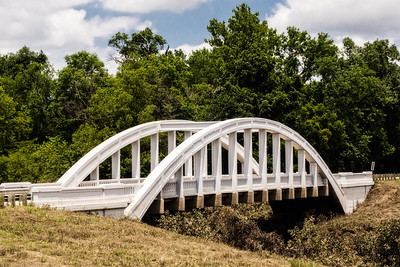 Bush Creek Marsh Arch Rainbow Bridge