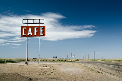 Lonely Cafe Route 66