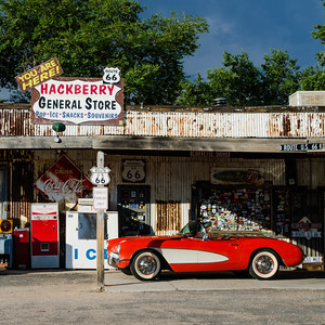 1957 Corvette at Hackberry