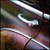Detail of 1950 Chevy Door Handle
