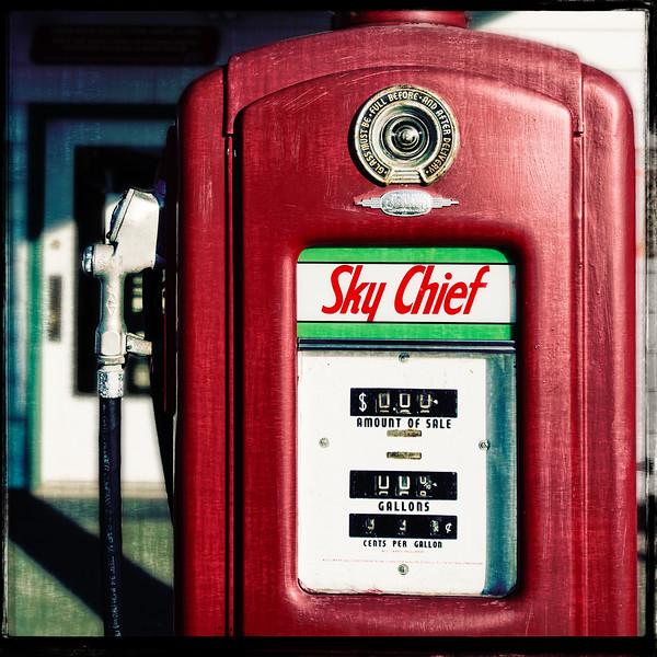 Sky Chief Pump at Ambler Station