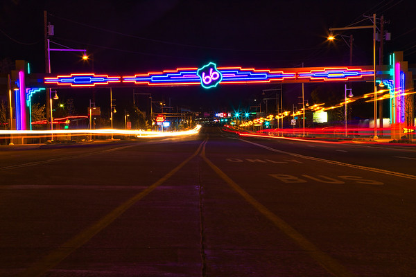 Route 66 / Central Ave in Albuquerque
