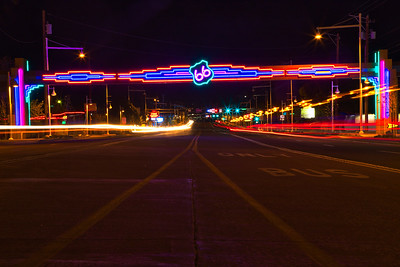 Route 66 / Central Ave in Albuquerque