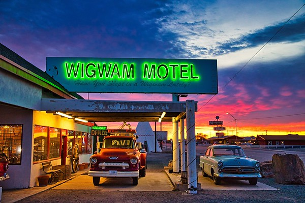 The Wigwam Motel in Holbrook, AZ