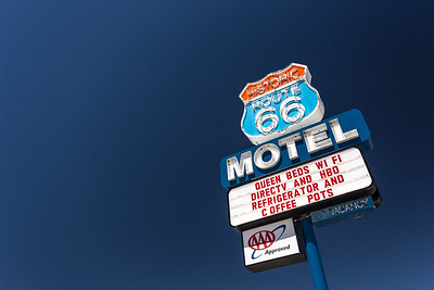 Route 66 Motel  Seligman Arizona
