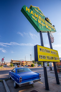 Hamburger diner Miami Route 66 Oklahoma