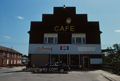 Cafe and Roller Rink Manchester Iowa  © jan albers   all rights reserved