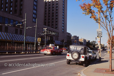 Beginning of Route 20 Boston, Massachusetts  © jan albers | all rights reserved