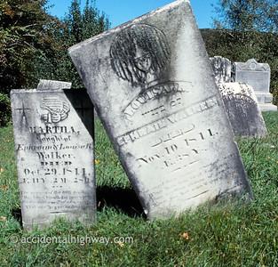 Revolutionary War Cemetery Becket, Massachusetts  © jan albers | all rights reserved