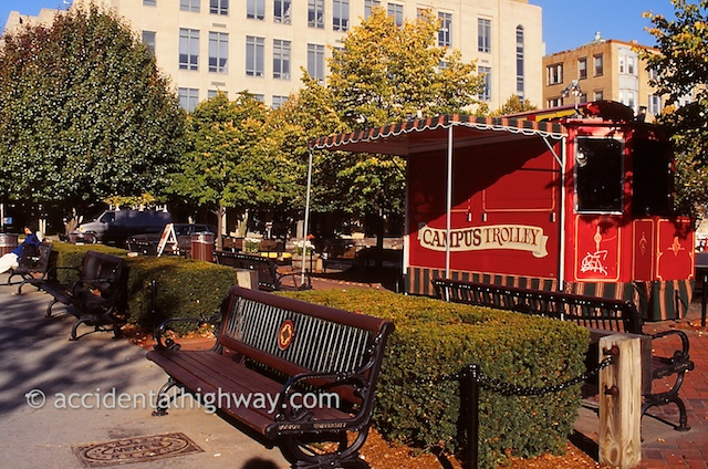 Campus Trolley,<br /> Boston University<br /> Boston, Massachusetts<br /> <br /> © jan albers   all rights reserved