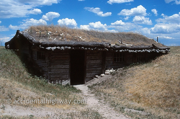 Sod House--Museum of the Fur Trade<br /> Chadron, Nebraska<br /> <br /> © jan albers | all rights reserved
