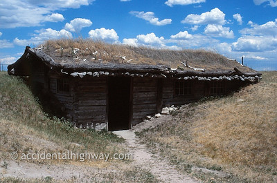 Sod House--Museum of the Fur Trade Chadron, Nebraska  © jan albers   all rights reserved