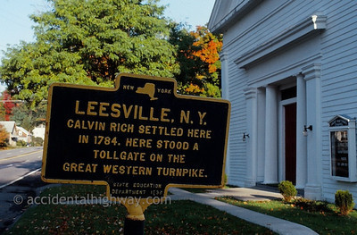 Great Western Toll Booth Leesville, New York  © jan albers   all rights reserved