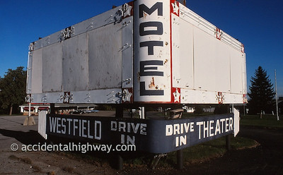 Westfield Drive-In Motel Westfield, New York  © jan albers   all rights reserved