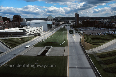 Road Through Albany Albany, New York  © jan albers   all rights reserved