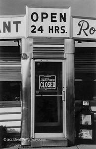 Robert's Diner New York  © karen e. titus   all rights reserved