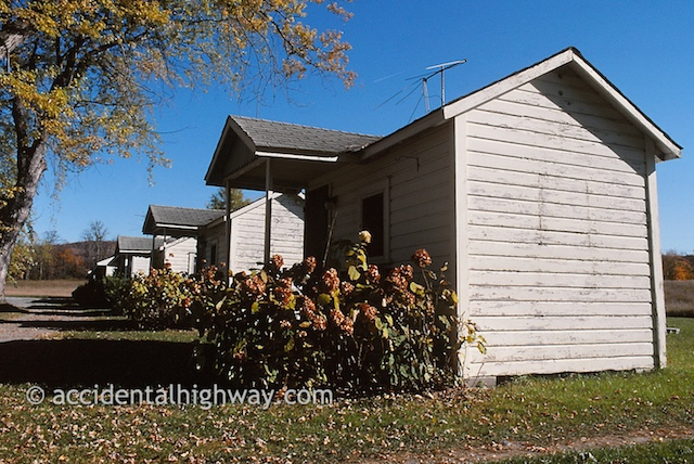 Old Tourist Cabins<br /> Springfield, New York area<br /> <br /> © jan albers   all rights reserved