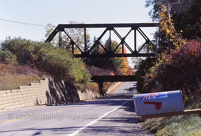 Bridges Over Route 20 West of Albany, Guilderland, New York  © jan albers   all rights reserved