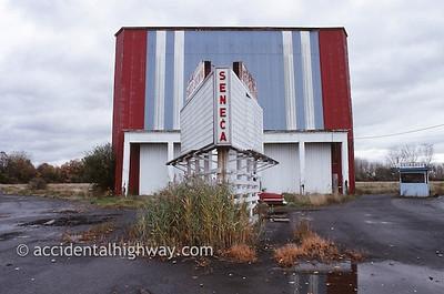 Seneca Drive-In Seneca, New York  © jan albers   all rights reserved