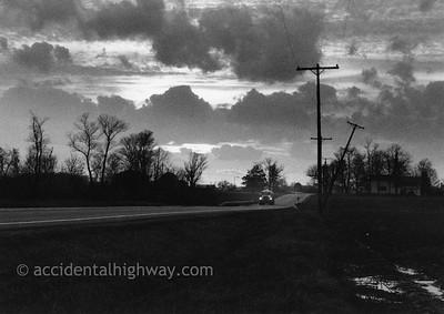 Evening Lights Northwest, Ohio  © karen e. titus   all rights reserved