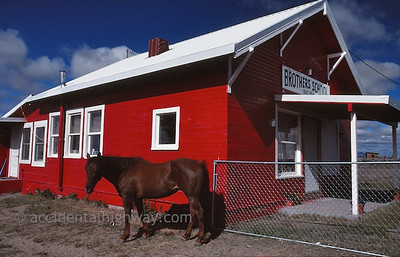 Little Red School House Brothers, Oregon  © jan albers   all rights reserved