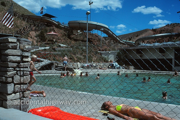 In Hot Water<br /> Thermopolis, Wyoming<br /> <br /> © jan albers | all rights reserved
