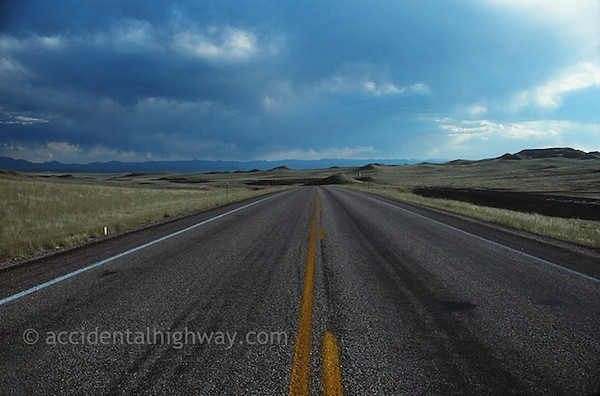 Heading West Toward the Mountains<br /> Wyoming<br /> <br /> © jan albers   all rights reserved