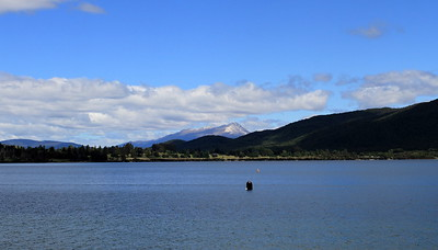 Views over Lake Te Anau